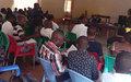 La population de Kampemba sensibilisée à  la non-violence pendant le processus électoral