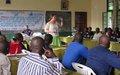 La MONUSCO appuie un atelier d'échanges sur la lutte contre les violences sexuelles