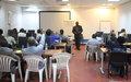 La MONUSCO forme des formateurs des agents pénitentiaires de la RDC