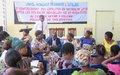 La Police de la MONUSCO forme les femmes à la lutte contre les violences sexuelles à Kalemie