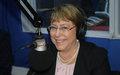 Michelle Bachelet plaide pour la fin des violations des droits de l'Homme en RDC.
