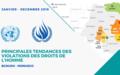 Principales tendances des violations des droits de l'homme – JANVIER À DÉCEMBRE 2019