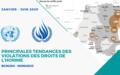 Principales tendances des violations des droits de l'homme – JANVIER À JUIN 2020