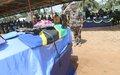 La MONUSCO rend hommage à ses casques bleus tombés lors de combats contre les rebelles ougandais