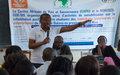 La MONUSCO et le Centre Africain de Paix et Gouvernance engagés contre les conflits en milieu universitaire