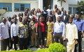 Ituri : La MONUSCO sensibilise les médias au respect du Code d'éthique et de déontologie