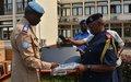 Le Commissaire Général de la Police Nationale Congolaise salue le partenariat privilégié avec la Police de la Monusco
