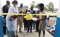 Nord-Kivu : la MONUSCO inaugure de nouveaux bâtiments au centre de santé de la PNC à Goma
