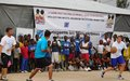 Project for Peace: Inauguration of Basketball Court for children in Goma