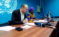 COMPTE-RENDU DE L'ACTUALITE DES NATIONS UNIES EN RDC A LA DATE DU 11 MARS 2020