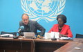 COMPTE-RENDU DE L'ACTUALITE DES NATIONS UNIES EN RDCA LA DATE DU 27 NOVEMBRE 2019