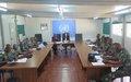 Les FARDC et la PNC formés aux techniques de monitoring en droit de l'homme à Kalemie