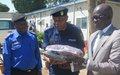 Haut-Katanga: La MONUSCO fait un don en vivres à la Police nationale congolaise