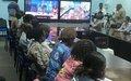 Compte-rendu de l'actualité des Nations Unies en RDC au cours de la période du 18 juillet au 8 août 201