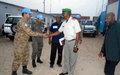 Prise de contact entre la MONUSCO et le nouveau commandant FARDC de SOKOLA II au Sud-Kivu