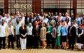 Association du Personnel Local (NSU-National Staff Union) - Message de voeux pour l'Année 2018 : Joindre les mains pour s'unir, c'est bien; mais les ouvrir pour servir, c'est mieux
