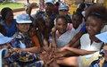La MONUSCO sensibilise les élèves du Lycée Bosangani sur les droits des femmes