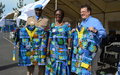 Les femmes UNPOL organisent une cérémonie de prise d'arme axée sur la parité