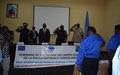 La police MONUSCO prépare 100 inspecteurs de la PNC à mieux exercer leur métier