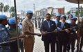 Journée - Expo des femmes Policières de l'ONU à Kinshasa