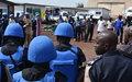 Le chef de la Division Police des Nations unies salue l'apport de la police dans la lutte contre Ebola à Beni