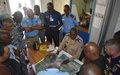 Mission opérationnelle du chef de la composante police à Beni