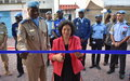La Cheffe de la MONUSCO inaugure le quartier général de la POLICE MONUSCO