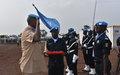 La Monusco remet des médailles à 332 policiers de l'Onu originaires de 10 pays