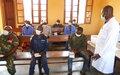 Bunia: Détenus et surveillants de la prison sensibilisés sur les mesures barrières au COVID-19