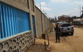 Bunia central prison provided with a fence wall and two watchtowers