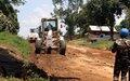 Ituri : La MONUSCO réhabilite le tronçon routier Komanda - Luna en Irumu