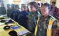 Résolution 1325 : sensibilisation du personnel féminin des forces de sécurité de Kalemie