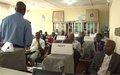 La Police MONUSCO forme des formateurs de la Direction Générale des Migrations