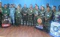 Douze points focaux militaires de la MONUSCO formés à la prévention contre l'exploitation et les abus sexuels à Bunia