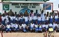 La MONUSCO ouvre ses portes à des écoliers d'Uvira