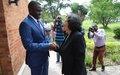 La cheffe de la MONUSCO, Leila Zerrougui, rencontre le gouverneur du Nord-Kivu