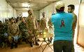 Prévention du VIH: la MONUSCO sensibilise ses casques bleus à Walungu