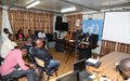 Workshop on the International Day to end Impunity for crimes against Journalists in Goma