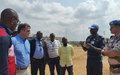 Le chef adjoint de la MONUSCO, David Gressly, en visite à Kisangani