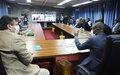 Nord-Kivu : réinsertion sociale et réintégration communautaire des ex-combattants au menu des échanges entre David Gressly et Carly Nzanzu Kasivita