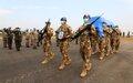 La MONUSCO rend hommage au casque bleu tué par des hommes armés dans la région de Beni