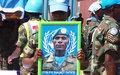 Sacrifice of fallen 'blue helmet' to be honoured with UN's highest peacekeeping award