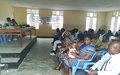 La MONUSCO sensibilise les groupes vulnérables pour une participation responsable au processus électoral