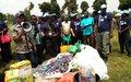 La MONUSCO assiste des femmes déplacées victimes de violence sexuelles à Kiwanja