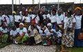 A Goma, le chef de la division Police des Nations unies rend hommage à la femme