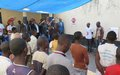 MONUSCO meets with children detained in Kalemie prison