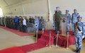 320 Casques bleus bangladais de la MONUSCO décorés de la « Médaille des Nations Unies » à Bunia