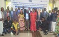 Les Ministres provinciaux de l'Ituri apprennent le développement selon l'approche basée sur les droits de l'Homme