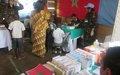Bunia : la MONUSCO organise une campagne de dépistage et de sensibilisation médicale gratuite pour une centaine d'écolier