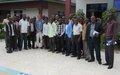Cérémonie de remise officielle du Projet à impact rapide de la MONUSCO d'appui en énergie solaire à 10 radios communautaires de Beni